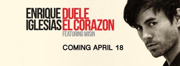 """Czas letniego szaleństwa nastanie już wkrótce. Nie od dzisiaj wiadomo, że warto mieć na swoim koncie wakacyjny hit. Może Enrique Iglesias i jego """"Duele El Corazon"""" zawładnie sercami słuchaczy w tym roku?"""