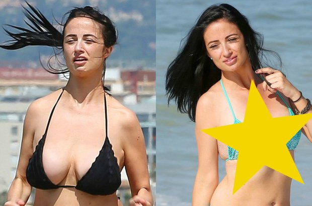 """Ogromne sztuczne piersi by�y znakiem firmowym gwiazdki """"Big Brothera"""". Usun�a implanty i... Ale zmiana!"""