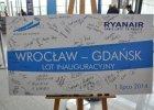 Pierwszy lot Ryanairem do Gda�ska. Po��czenie sezonowe