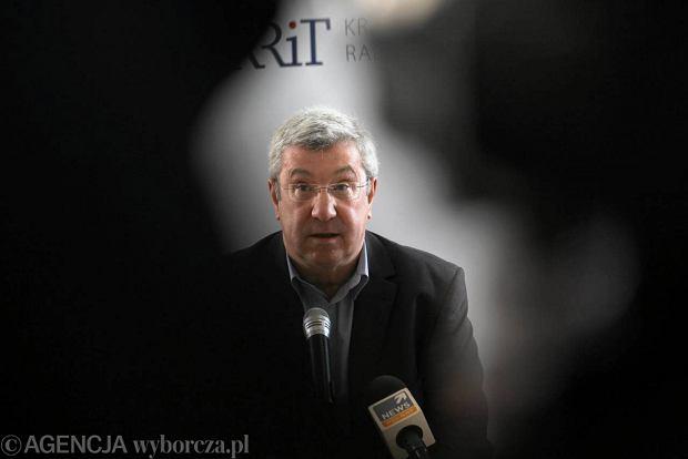 Jan Dworak, przewodnicz�cy KRRiT