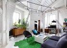 Wnętrza: mieszkanie na poddaszu kamienicy