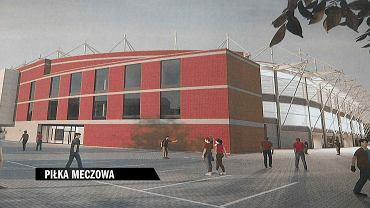 Wizualizacja stadionu Widzewa