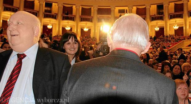 J�zef Oleksy i Leszek Miller