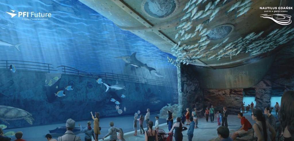 В Гданьске построят гигантский океанариум с пляжем, пещерами и джунглями