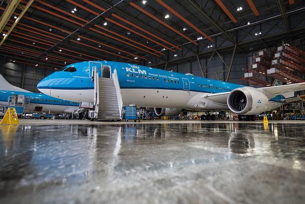 KLM - holenderski przewoźnik lotniczy dba o środowisko. Linia stosuje m.in. ekologiczny system mycia samolotów, recykling i racjonalne zużywanie energii