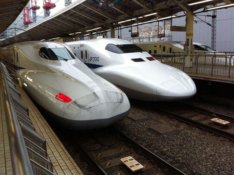 N700 - rewersja japońskiego pociągu Shinkansen / fot. Discovery Channel