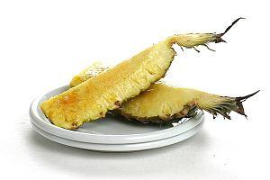 Pieczony ananas z tequilą
