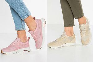 Przegląd modnych, sportowych butów na jesień z wyprzedaży. Wśród nich takie marki jak New Balance i Nike