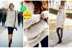 Oversize'owe swetry - czuj się jak w domu, gdziekolwiek nie pójdziesz