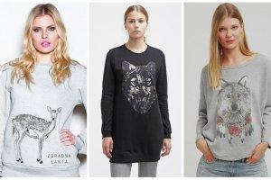 Damskie bluzy z motywami animalistycznymi - nasz przegląd najciekawszych modeli