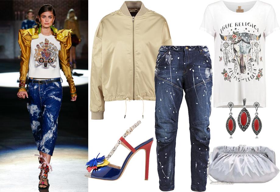 Niesforny denim - jeansy damskie