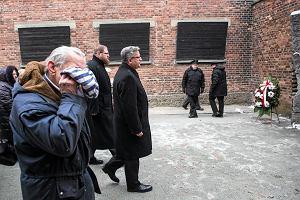 Komorowski w Auschwitz: Nawet w obliczu najwi�kszego upadku cz�owiecze�stwa mo�liwe jest bohaterstwo