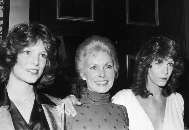 Janet Leigh i jej córki Kelly Curtis oraz Jamie Lee Curtis w 1979