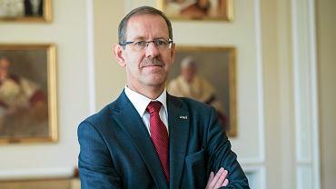 Rektor Uniwersytetu Warszawskiego prof. Marcin Pałys