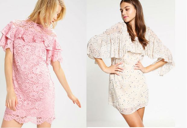 db647bf58c Sukienki z falbanami - 30 modnych propozycji na wiosnę