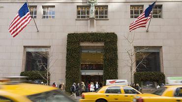 Nowy Jork, dom towarowy Tiffany&Co przy Piątej Alei.