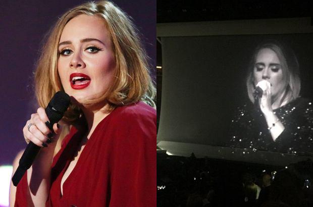 Adele zadedykowała swój koncert w Madison Square Garden Angelinie Jolie i Bradowi Pittowi.