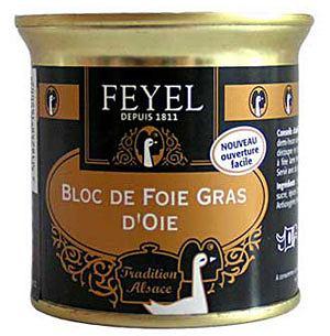Kuchnia: Fois Gras. Niezły pasztet, kuchnie świata, kuchnia, FEYEL-ARTZNER Foie gras z gęsi - blok 200g. Cena: 106 zł