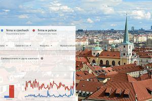 Zainteresowanie Polaków firmami w Czechach
