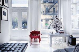 Wnętrza: apartament w Nowym Jorku
