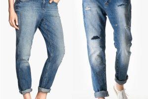 Boyfriend jeans - gdzie znale�� i z czym nosi�