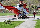 Śmiertelny wypadek na Rysach. Śmigłowiec TOPR w akcji