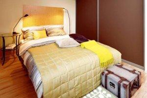 Sypialnia na poddaszu - 41 m kw., dla 1 osoby