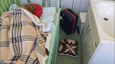 Rodzice skarżą się na warunki panujące w poznańskim szpitalu Dziecięcym im. B. Krysiewicza