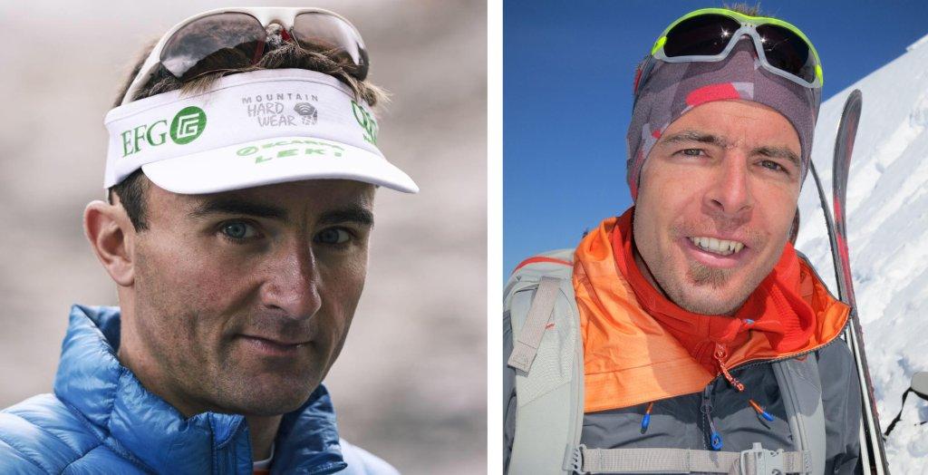 Po lewej: Ueli Steck (facebook.com/ueli.steck/); po prawej: Dani Arnold (Staycoolandbegood / Wikimedia Commons / CC BY-SA 3.0)