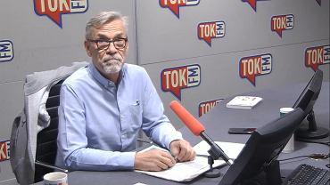 Jacek Żakowski w studiu TOK FM