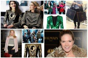Przedsprzedaż Balmain dla H&M dla VIPów: gwiazdy z zakupami za kilka tysięcy, kolekcja wyprzedana do ostatniej sztuki. Już pojawiła się na Allegro