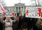 """""""Solidarność"""" organizuje demonstrację pod ambasadą Rosji"""