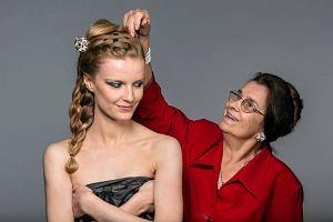 Danuta P�atek - mistrzyni fryzjerstwa