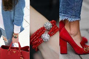 Czerwone dodatki na lato - gotowe stylizacje!