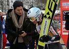 PŚ w skokach narciarskich. Kamil Stoch skomentował spotkanie z Robertem Lewandowskim. Zapytał go o Liverpool