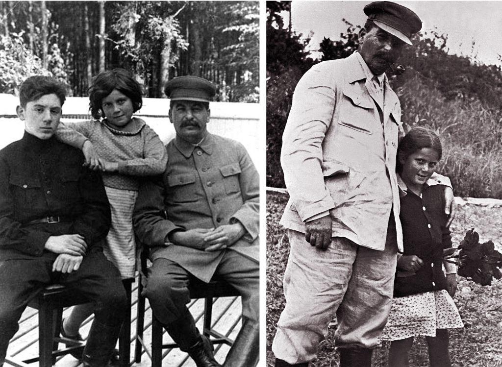Swietłana z bratem Wasilijem i ojcem (fot. Eastnews)