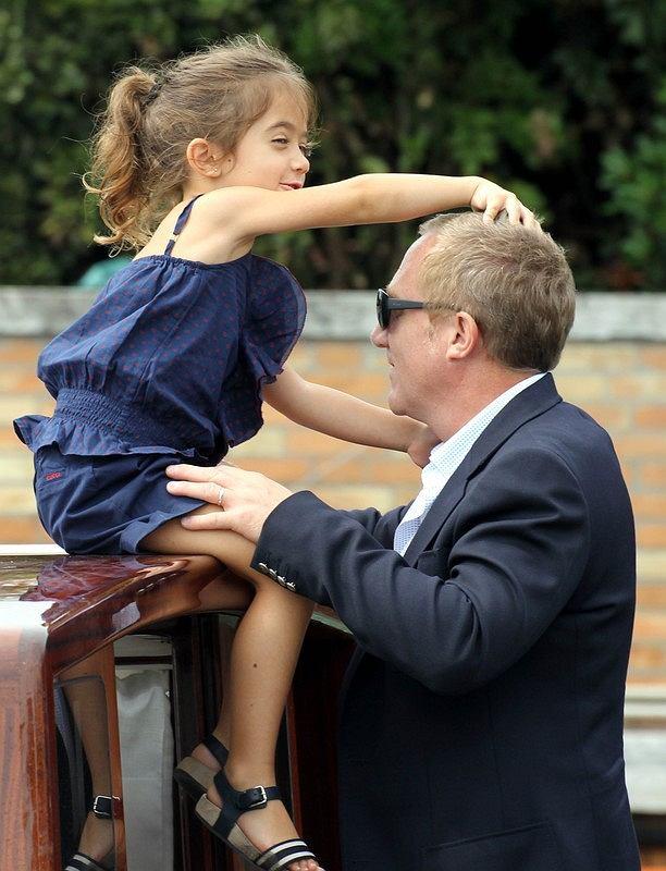 Mąż Salmy Hayek z córką Valentiną Palomą