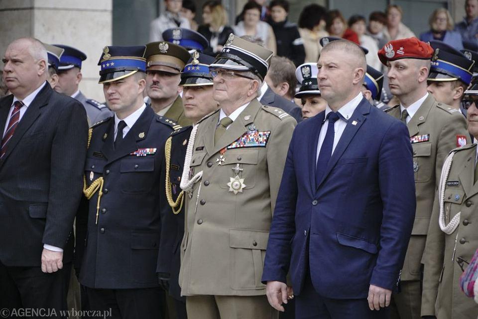 Na zdjęciu z uroczystości widoczny Włodzimierz Marciniak