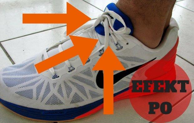 Jak wiązać buty? Efekt PO