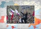 Cztery mapy, kt�re t�umacz�, jak skomplikowana jest sytuacja na Ukrainie [ZOBACZ]