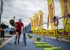 Magda w strefie zmian na Garmin Iron Triathlon