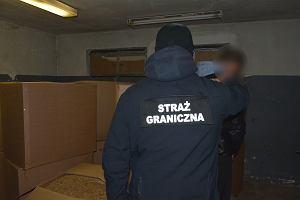 Słupsk. Strażnicy graniczni przechwycili nielegalny tytoń