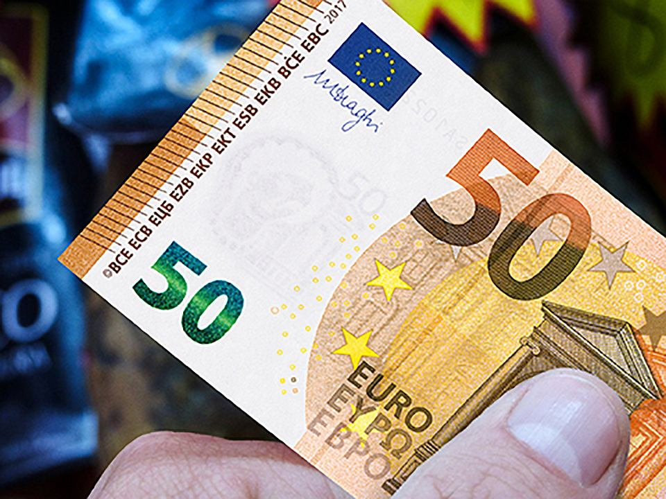 Nowy banknot 50 euro