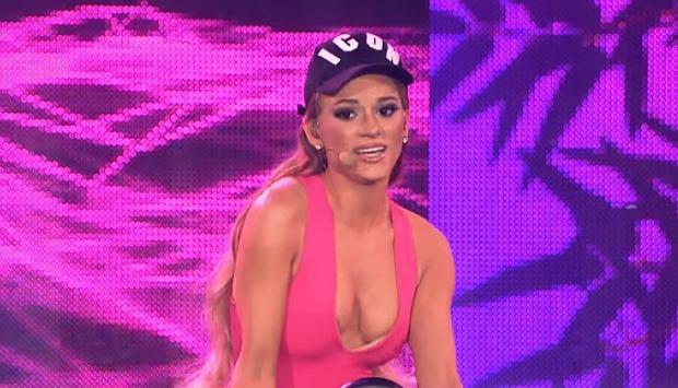 Zwyciężczyni ostatniego odcinka show Twoja Twarz Brzmi Znajomo 2017 wcieliła się w Arianę Grande.
