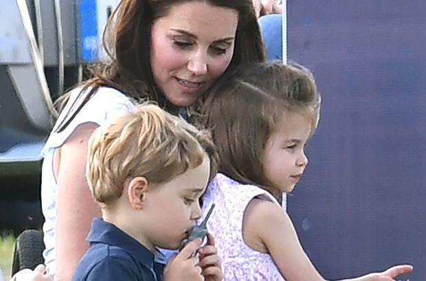 Księżna Kate, książę George, księżniczka Charlotte