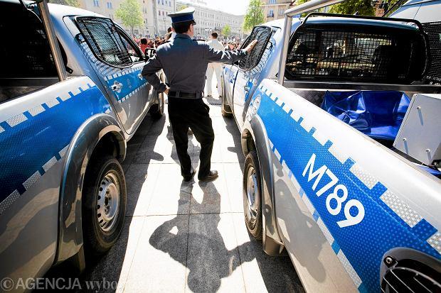 45 policjant�w szuka�o matki z synem. By�a pijana