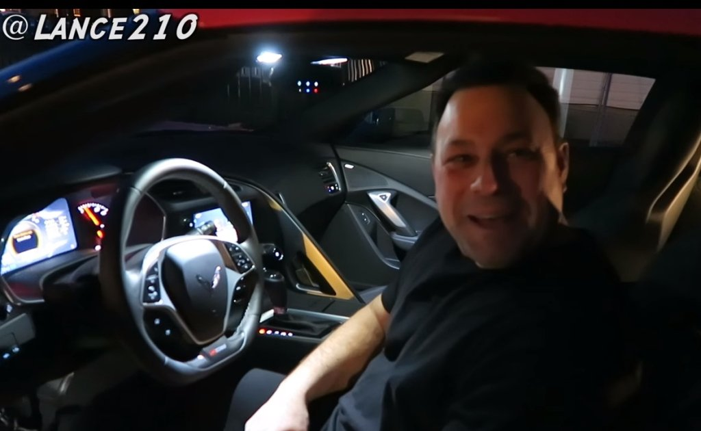 Kupił ojcu Corvette Z06