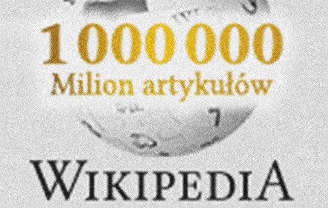 Polska Wikipedia ma w zasobach milion haseł