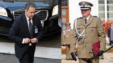 Były szef Agencji Wywiadu Grzegorz Małecki (po lewej) i były szef BOR-u Andrzej Pawlikowski.
