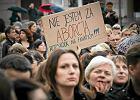 Czarny protest w mediach propisowskich